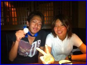 熊谷と学生