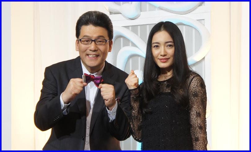 MUSIC FAIRの新司会者仲間由紀恵と軽部真一の意外な関係